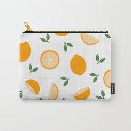 Simple Lemon Pattern Carry-All Pouch
