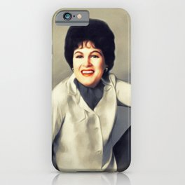 Patsy Cline, Music Legend iPhone Case