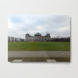 the reichstag  Metal Print