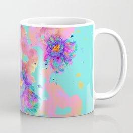 Colorful Watercolor Flower Coffee Mug