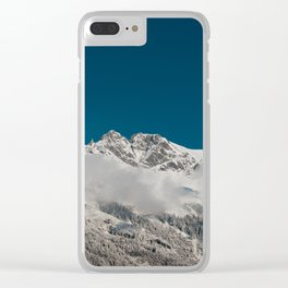 A Winter's Tale Clear iPhone Case