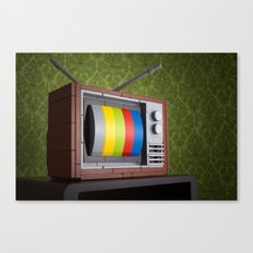 57 Channels and Nothing On Canvas Print