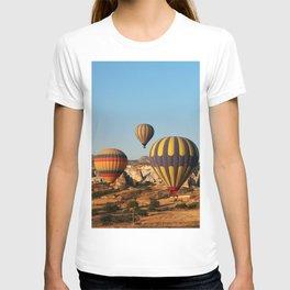 in a hot-air balloon over Cappadocia T-shirt