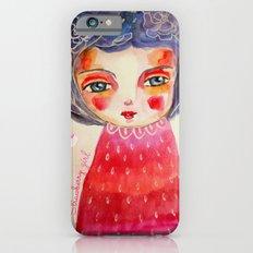 Strawberry girl Slim Case iPhone 6s