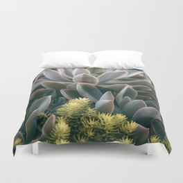 Graptoveria Study #3 Duvet Cover