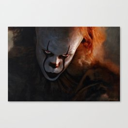 Pennywise The Dancing Clown - IT Canvas Print