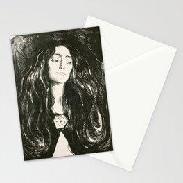 "Edvard Munch ""The Brooch. Eva Mudocci"", 1903 Stationery Cards"