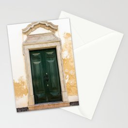Old door in Tavira, Portugal Stationery Cards