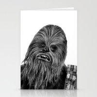 chewbacca Stationery Cards featuring Chewbacca by axemangraphics