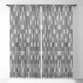 mech pattern Sheer Curtain