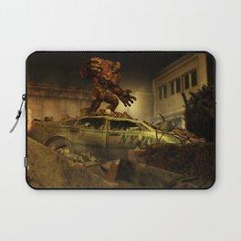 The Infernal Behemoth - Hell in The City - Fantasy  Artwork Laptop Sleeve