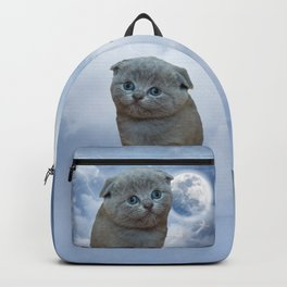 Lonely Little Kitty Backpack