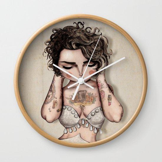 Vinila Von Bismark Wall Clock