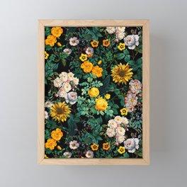 Midnight Garden XX Framed Mini Art Print