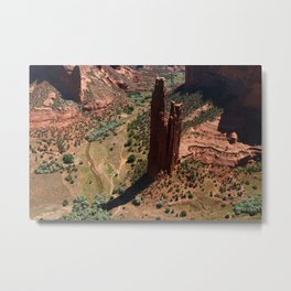 Amazing Spider Rock Metal Print