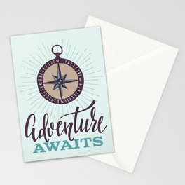 Adventure Awaits Stationery Cards