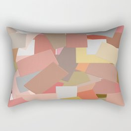 Coral Blocks 5050 Rectangular Pillow