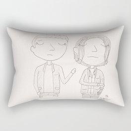 Stucky - but I knew him Rectangular Pillow