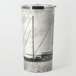 Vintage Schooner Travel Mug