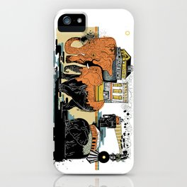 Oiliphants iPhone Case