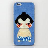 honda iPhone & iPod Skins featuring A Boy - E. Honda by Christophe Chiozzi