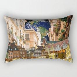 A Glimpse of the World Rectangular Pillow
