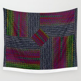 Texture Spectrum Repeat Wall Tapestry