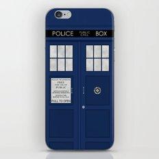 Doctor Who's Tardis iPhone & iPod Skin
