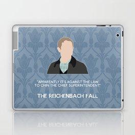 The Reichenbach Fall - John Watson Laptop & iPad Skin
