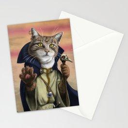 Sorcerer Cat Stationery Cards