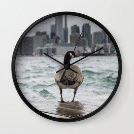 Goose Booty Wall Clock