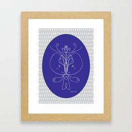 Creation & Creativity II Framed Art Print