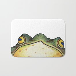 My Sensei is a Frog, Looking into You're Soul Bath Mat