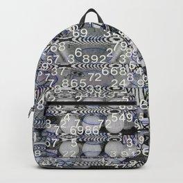 Post Digital Tendencies Emerge (P/D3 Glitch Collage Studies) Backpack