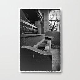 The Piano Metal Print