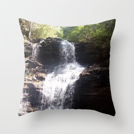 Cheers to Waterfalls pt.1 Throw Pillow