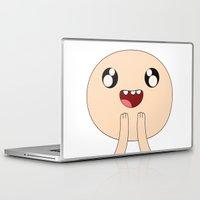finn Laptop & iPad Skins featuring Adventure - Finn by Alessandro Aru