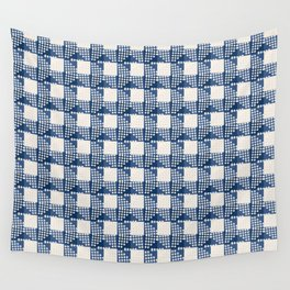 SEVILLE GINGHAM BLUE Wall Tapestry