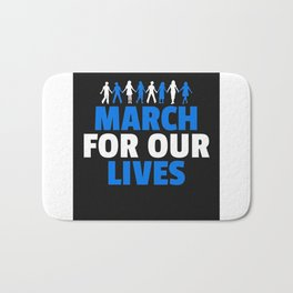 march for our lives Bath Mat
