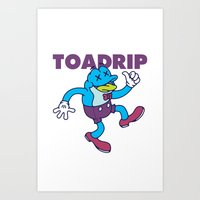 TOADRIP 2 Art Print