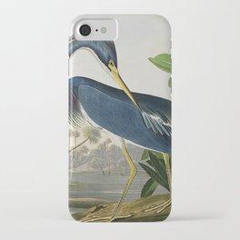 John James Audubon Louisiana Heron Painting iPhone Case