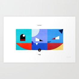 PKMNML #007 - 009 (EVOLUTION) SQUIR TLE - BLAS TOISE Art Print