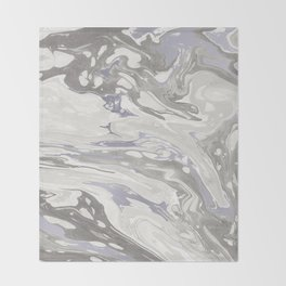 Grey Marble #society6 #decor #buyart Throw Blanket
