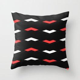 Crunchy Lines, No. Throw Pillow
