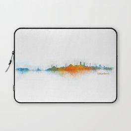 Istanbul City Skyline Hq v3 Laptop Sleeve