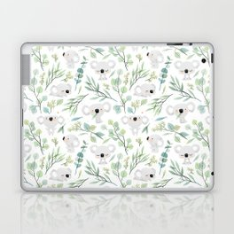 Koala and Eucalyptus Pattern Laptop & iPad Skin