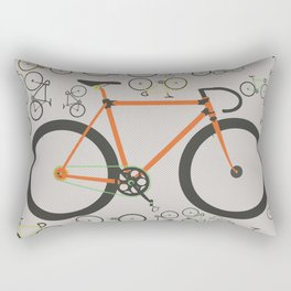 Fixed gear bikes Rectangular Pillow