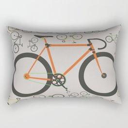 Fixed gear bikes Rectangular Pillow