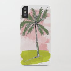 Palm Tree Slim Case iPhone X