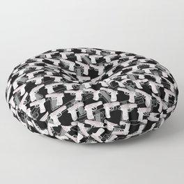 Gun Pattern Floor Pillow